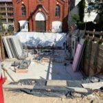 Neubau: Betonwände Keller