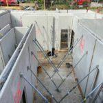 Keller Rohbau Betonwände