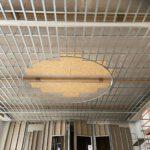 Altbau Unterkonstruktion Decke im Saal