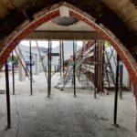 Durchbruch Außenmauer Altgebäude Neubau