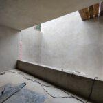 Neues Kellergeschoss im Rohbau