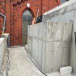 Fertiger Rohbau im Neubau